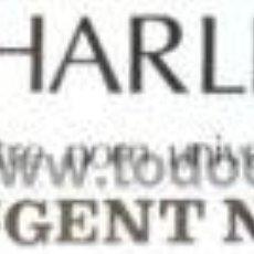 Carteles Espectáculos: CARTEL CHARLIE RIVEL. C.1975. 45X10CM.. Lote 33254832