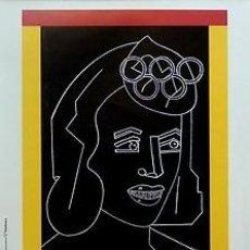 Carteles Espectáculos: CARTEL JJ.OO. ARROYO. EDUARDO ARROYO. CATALUNYA. BARCELONA. 1992. 50X70. Lote 33419693