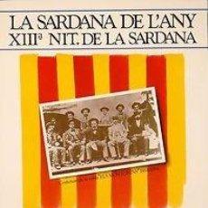 Carteles Espectáculos: CARTEL TORROELLA DE MONTGRI LA SARDANA DE L'ANY 1984. MMLB. CATALUNYA. 33X50.. Lote 33460638