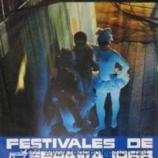 Carteles Espectáculos: CARTEL FESTIVALES DE ESPAÑA 1968. LARA. 67X99 CM.. Lote 33578962