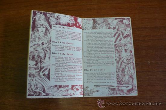 Carteles Espectáculos: PROGRAMA OFICIAL GRAN FERIA DE VALENCIA 1934. - Foto 3 - 34403661