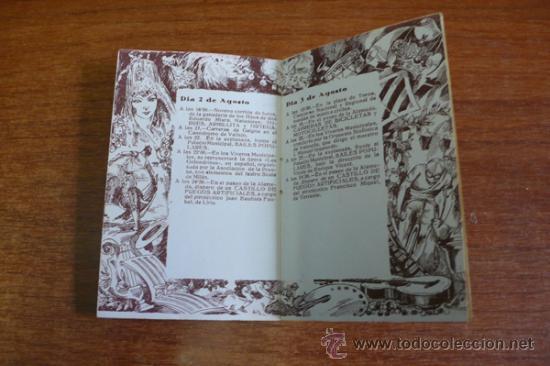 Carteles Espectáculos: PROGRAMA OFICIAL GRAN FERIA DE VALENCIA 1934. - Foto 6 - 34403661