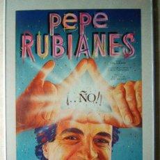 Carteles Espectáculos: PEPE RUBIANES - ESPECTACULO ¡.. ÑO ! - CARTEL 87X60 CM. - AUTOR : CASTELLS I PLANAS - AÑO 1984.. Lote 36560487