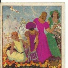 Carteles Espectáculos: VALENCIA.-GRAN FERIA DE VALENCIA 1933 PROGRAMA OFICIAL. Lote 37836332