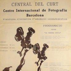Carteles Espectáculos: CARTEL CENTRAL DE CURT. Lote 37885510