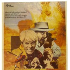 Carteles Espectáculos: CARTEL SPREE. PETER GRAVES/MARIANNE SAUVAGE. Lote 37885856