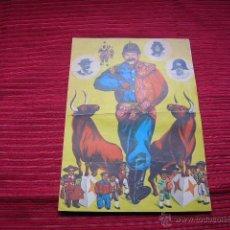 Carteles Espectáculos: FOLLETO EL BOMBERO TORERO. Lote 39720567