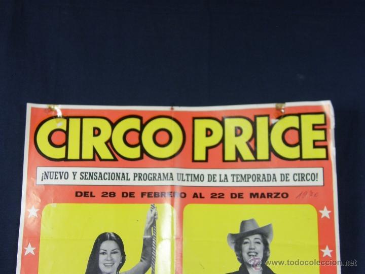Carteles Espectáculos: cartel circo price del 28 febrero al 22 marzo 1970 pinito del oro 20 nuevas atracciones - Foto 3 - 40418905
