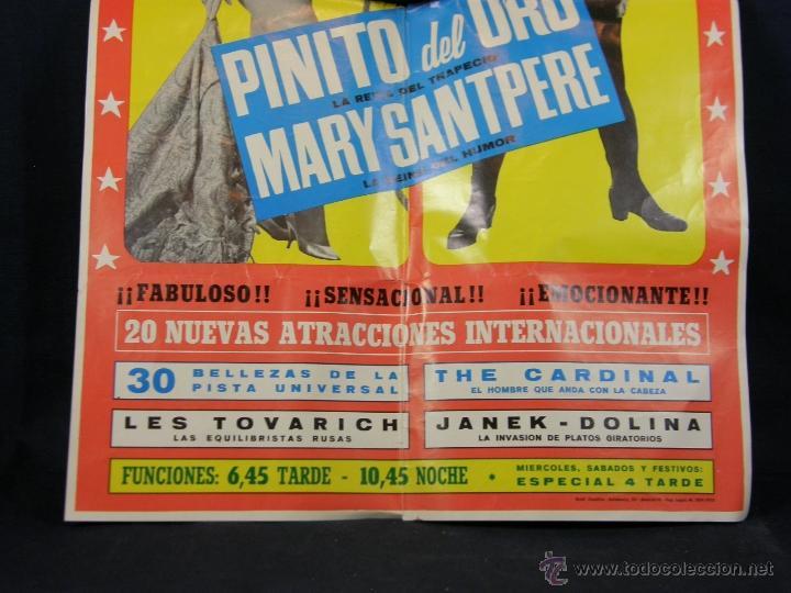 Carteles Espectáculos: cartel circo price del 28 febrero al 22 marzo 1970 pinito del oro 20 nuevas atracciones - Foto 4 - 40418905