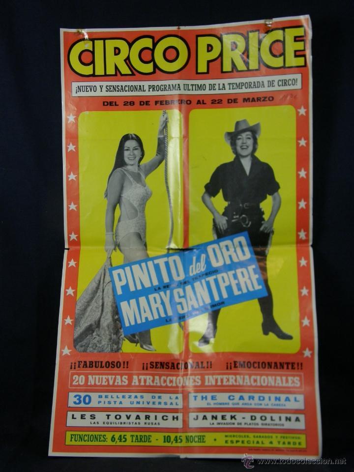 Carteles Espectáculos: cartel circo price del 28 febrero al 22 marzo 1970 pinito del oro 20 nuevas atracciones - Foto 5 - 40418905