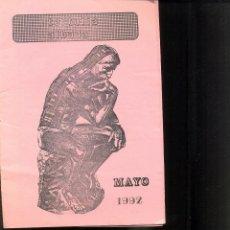 Carteles Espectáculos: PROGRAMA TERTULIA ALBADA. AÑO 1992.. Lote 40741040