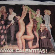 Carteles Espectáculos: CARTEL DE LA COMEDIA MUSICAL,- CASTAÑAS CALENTITAS DE PALACIO Y COLORADO 1977. Lote 42054509