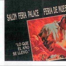 Carteles Espectáculos: ENTRADA COTILLON FIN DE AÑO 1992 NUMERADA IMPECABLE SALON FERIA PALACE FERIA DE MUESTRAS DE VALENCIA. Lote 42676538