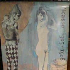 Carteles Espectáculos: CARTEL PICASSO 1905/06. Lote 43301595