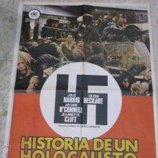 Carteles Espectáculos: CARTEL CINE ORIGINAL HISTORIA DE UN HOLOCAUSTO. Lote 43707812