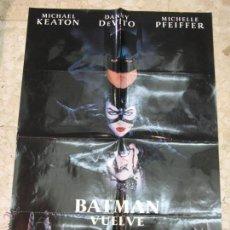 Carteles Espectáculos: CARTEL ORIGINAL CINE BATMAN VUELVE. Lote 43708166