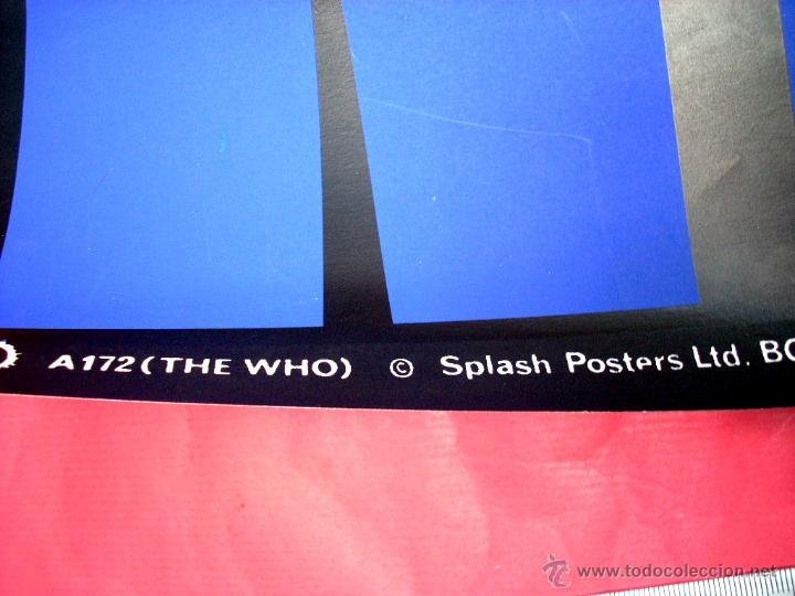 Carteles Espectáculos: THE WHO - 1980'S - Foto 2 - 44436928