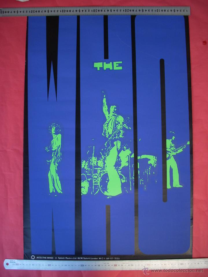 Carteles Espectáculos: THE WHO - 1980'S - Foto 6 - 44436928