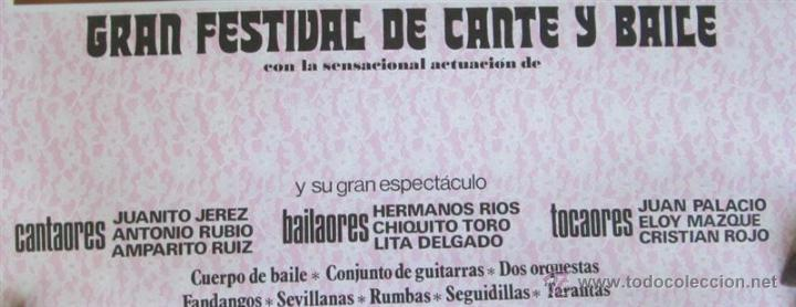 Carteles Espectáculos: Gran festival de canto y baile - Foto 3 - 112990490