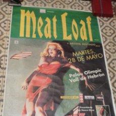 Carteles Espectáculos: CARTEL CONCIERTO MEAT LOAF – BARCELONA 28 DE MAYO DE 1996. Lote 46072189