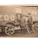 Carteles Espectáculos: POSTAL ANTIGUA DEL ZOO CIRCUS. CARROMATO Y PERSONAJES. CA.1930. POSTAL NO CIRCULADA.. Lote 46609107