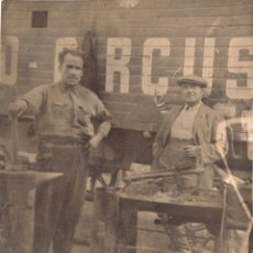 Carteles Espectáculos: POSTAL ANTIGUA DEL ZOO CIRCUS. CARROMATO Y HERRERO. CA.1930. POSTAL NO CIRCULADA.. Lote 46611421