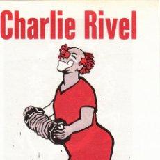 Carteles Espectáculos: CIRCO LOS MUCHACHOS. INVITACION. CHARLIE RIVEL. CA.1975. Lote 46953051