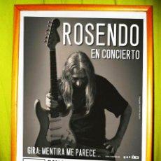 Carteles Espectáculos: ROSENDO - EN CONCIERTO. EN SAN VICENTE DE ALCANTARA 2004. Lote 53441476