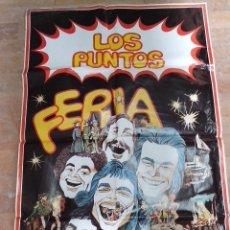 Carteles Espectáculos: CARTEL ANTIGUO DE (LOS PUNTOS) 1975. Lote 86981607