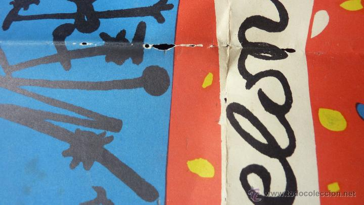 Carteles Espectáculos: gran cartel real circulo artistico fiestas de la merced 1959 . Barcelona festes Mercè 94/60 cm - Foto 2 - 48337495