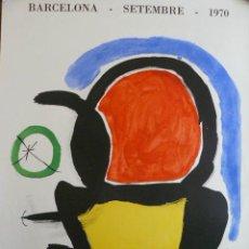 Plakate Schauspiele - CARTEL DE J. MIRO SALA GASPAR 1970 - 48669323