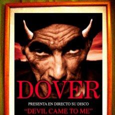 Carteles Espectáculos: POSTER CONCIERTO DE - DOVER - SALA EL SOL, MADRID 2013. Lote 49346576