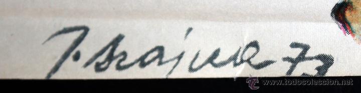 Carteles Espectáculos: CARTEL ILUSTRADO POR JOSEF SZAJNA (Rzeszów, 1922 - Varsòvia, 2008) TEATRO STUDIO. GULGUTIERA - Foto 2 - 49394164