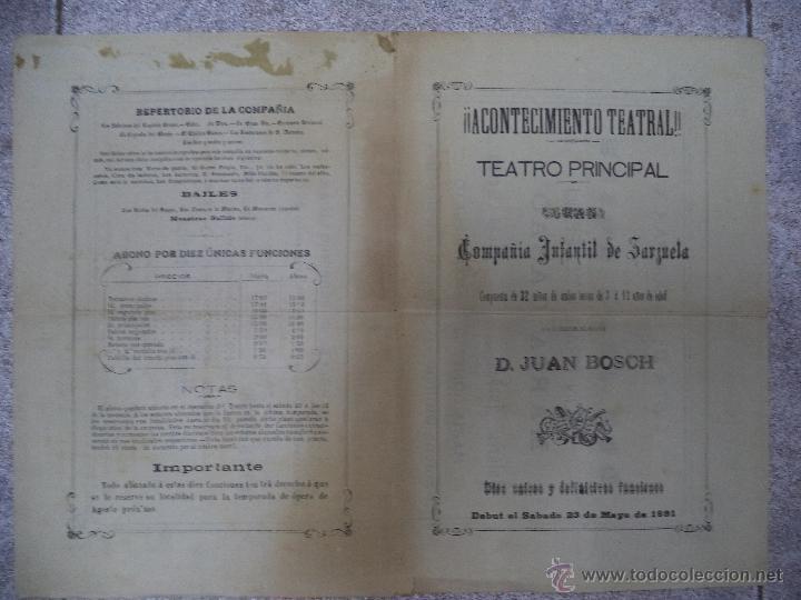 Carteles Espectáculos: Cádiz,Cartel siglo XIX,Acontecimiento Cultural,muy raro,inencontrable,leer descripción - Foto 2 - 50471383