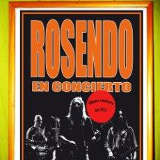 Carteles Espectáculos: POSTER CARTEL DE CONCIERTO DE - ROSENDO - 2012 MALLORCA. Lote 52222713
