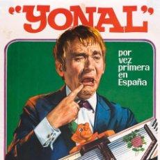 Affissi Spettacoli: CARTEL YONAL. CIRCO ATLAS. JANO. 1973 61X35 CM.. Lote 52597863