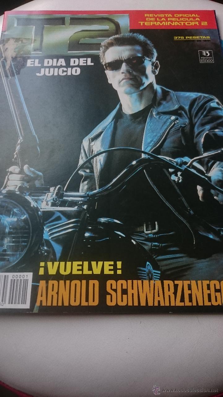 terminator 2 revista oficial de la pelicula año - Comprar Carteles ...