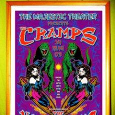 Carteles Espectáculos: POSTER DE CONCIERTO DE - THE CRAMPS - AÑO 2003 EN DETROIT U.S.A. 45X 27. Lote 193330813