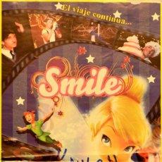 Carteles Espectáculos: CARTEL CIRCO ALEX ZAVATTA. SMILE. TRUCO. 41X20 CM. BARCELONA. Lote 53285302