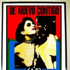 Carteles Espectáculos: POSTER CARTEL INAGURACION 1990 DE DISCOTECA - A.C.T.V. - DE RUTA DESTROY DE VALENCIA. Lote 245138055