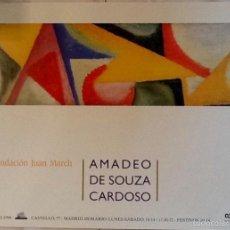Affissi Spettacoli: AMADEO DE SOUZA CARDOSO. FUNDACION MARCH. 1998. ENVIO INCLUIDO.. Lote 56652838