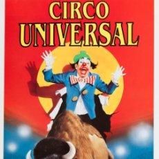 Carteles Espectáculos: CIRCO UNIVERSAL. BADALONA. Lote 56705495