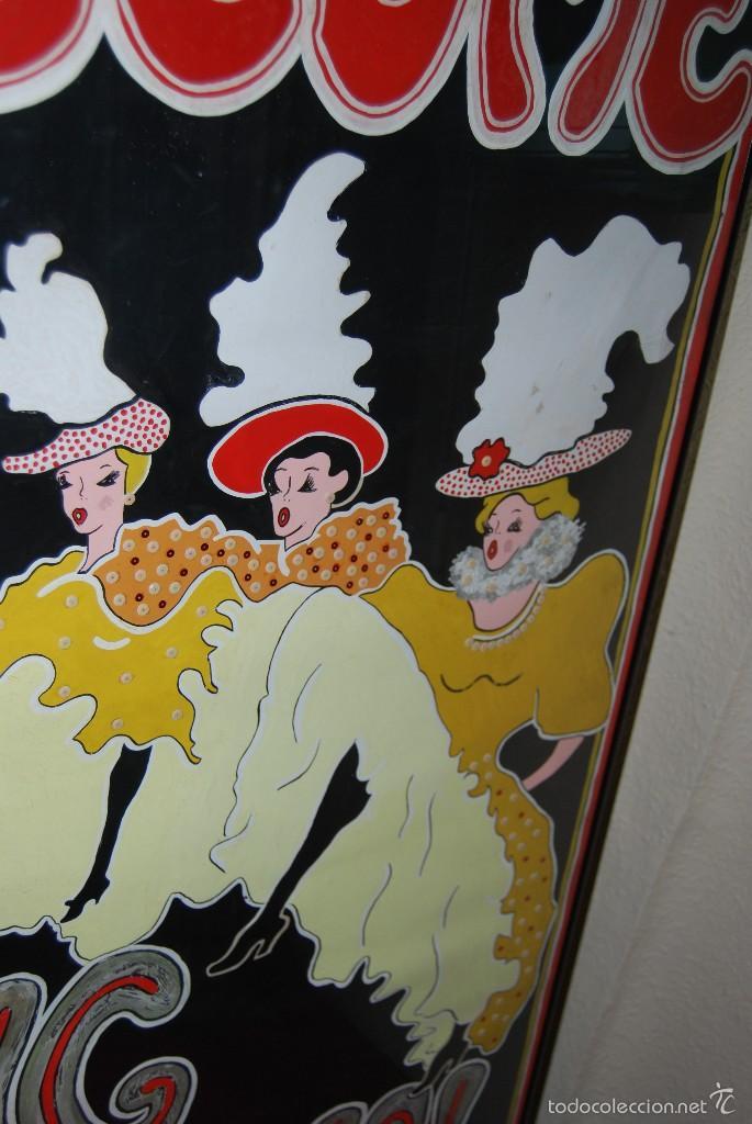 Carteles Espectáculos: DIBUJO ORIGINAL - CARTEL TEATRO O CABARET - CANCÁN - FESTIVAL - PINTADO A MANO - MEDIADOS SIGLO XX - Foto 6 - 57085714