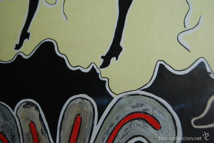 Carteles Espectáculos: DIBUJO ORIGINAL - CARTEL TEATRO O CABARET - CANCÁN - FESTIVAL - PINTADO A MANO - MEDIADOS SIGLO XX - Foto 12 - 57085714