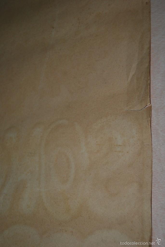 Carteles Espectáculos: DIBUJO ORIGINAL - CARTEL TEATRO O CABARET - CANCÁN - FESTIVAL - PINTADO A MANO - MEDIADOS SIGLO XX - Foto 19 - 57085714