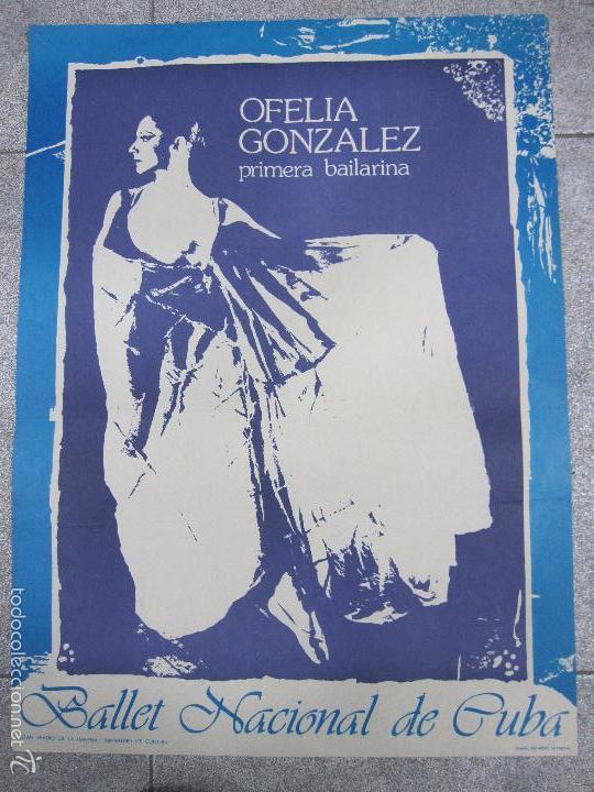 BALLET INTERCIONAL DE CUBA. BAILARINA OFELIA GONZALEZ. GRAN TEATRO DE LA HABANA.