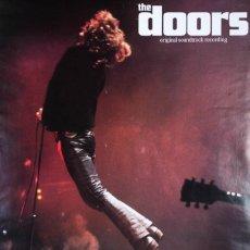 Carteles Espectáculos: THE DOORS. ORIGINAL SOUNDTRACK RECORDING. Lote 57128723
