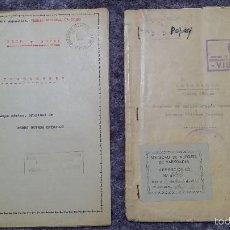 Carteles Espectáculos: GUIONES ORIGINALES PAYASOS PERY Y POPEY EMILIO ARAGON. Lote 57159479