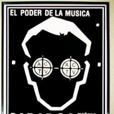 CARTEL GRANDE DE DISCOTECA - ACTV - DE RUTA BAKALAO AÑOS 90