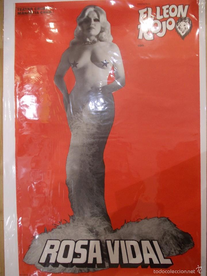 Carteles Espectáculos: CARTELES CIRCO TEATRO CHINO MANOLITA CHEN - 1977 - Mª CARMEN SALAS Y ROSA VIDAL - IMPECABLES - Foto 7 - 58134117